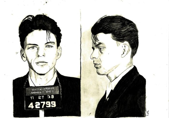 """""""Frank Sinatra Mug Shot"""""""