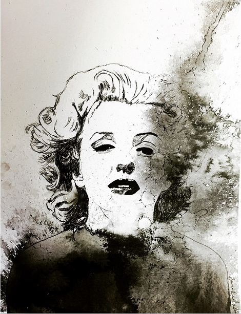 Abstract Marilyn